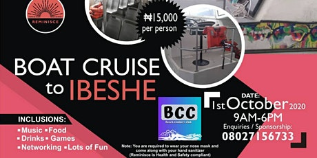 Boat Cruise to Ilashe tickets