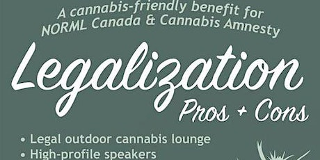 Legalization Pros & Cons tickets