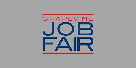 Grapevine Job Fair- Job Seeker Registration tickets