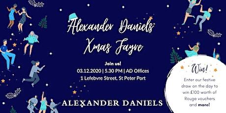 Alexander Daniels Christmas Fayre tickets