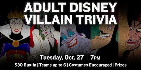 Adult Disney Villain Trivia Night tickets
