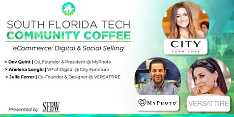 Community Coffee☕| 'eCommerce | Digital & Social Selling' tickets