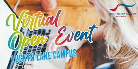 South Essex College Virtual Open Event, Luckyn Lane Campus (2020-21) tickets