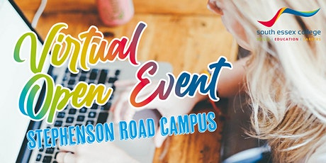 South Essex College Virtual Open Event, Stephenson Road Campus (2020-21) tickets