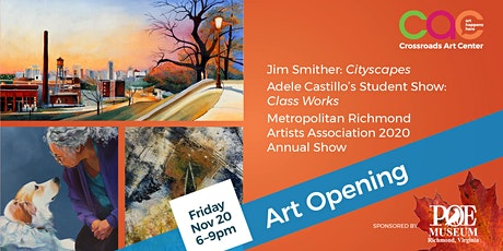 November 2020 Open House + Artists Reception tickets