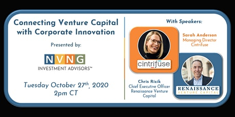 Connecting Venture Capital with Corporate Innovation tickets