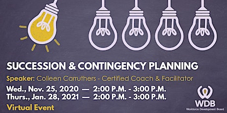 Succession & Contingency Planning  Virtual Event tickets