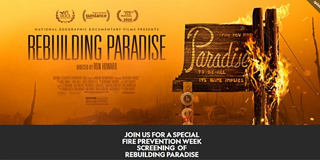 National Geographic's VIP Movie Private Screening Rebuilding Paradise tickets