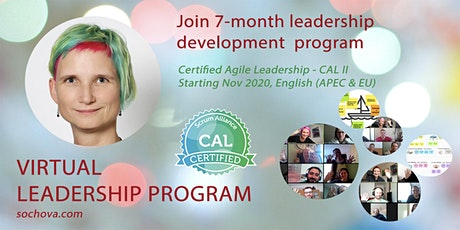 CAL2 Certified Agile Leadership II with Zuzi Sochova (APEC & EU times) tickets