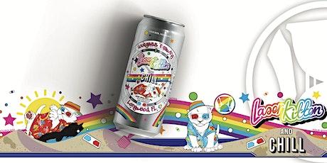 Laser Kitten & Chill Glassware & Beer Release tickets