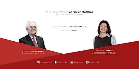 José Antonio Ocampo - Migración en Latinoamérica. Modera: Ana María Ibáñez entradas