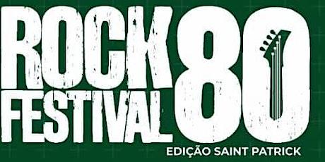 ROCK 80 FESTIVAL - Shopping Itaipú (4  a 6 de Dezembro) ingressos