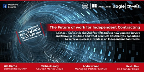 The Future of work for Independent Contracting Webinar tickets
