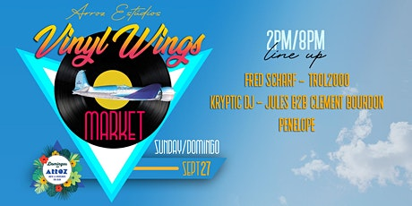 Vinyl Wings Market | Domingos no Arroz bilhetes