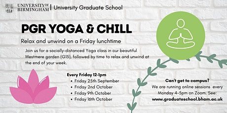 PGR Yoga and Chill in Westmere Gardens tickets