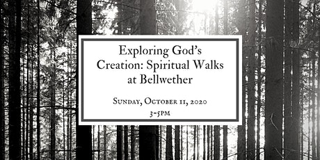 Exploring God's Creation: Spiritual Walks at Bellwether tickets