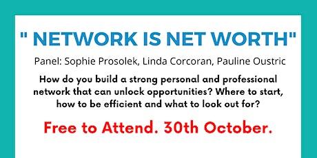 Scientistt Virtual Networking #3: Network is Net Worth tickets
