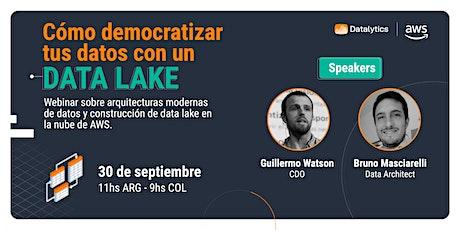 Cómo democratizar tus datos con un Data Lake en AWS entradas