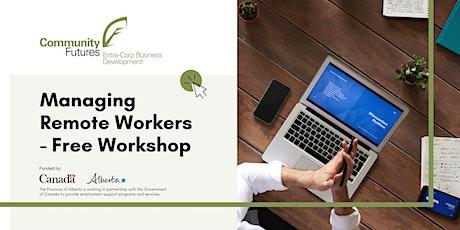 Employer Workshop #2: Managing  Remote Employees tickets