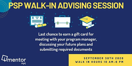PSP Walk-In Advising Session tickets