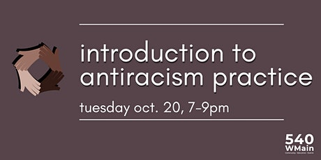 Introduction to Antiracism Practice tickets