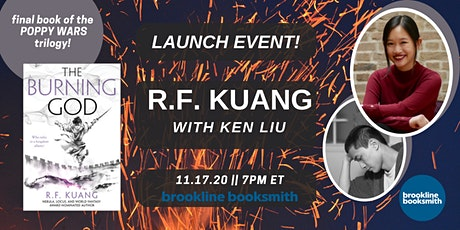 R.F. Kuang with Ken Liu: THE BURNING GOD tickets