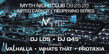 Outlet Fridays at Myth Nightclub | Friday 09.25.20 tickets