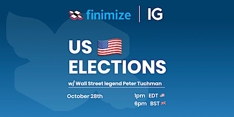 US Elections w/ Peter Tuchman tickets