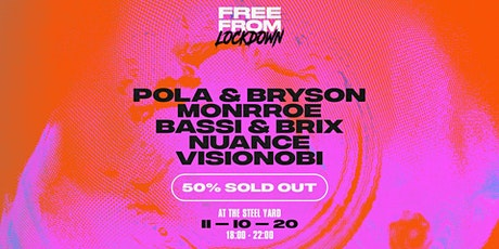 Free From Lockdown: Pola & Bryson tickets