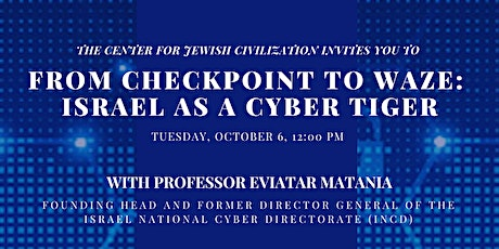 From Checkpoint to Waze: Israel as a Cyber Tiger tickets