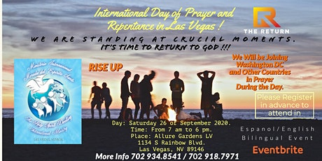 INTERNATIONAL DAY OF PRAYER AND REPENTANCE Las Vegas tickets