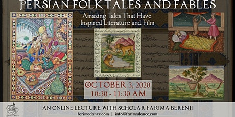 Persian Folktales and Fables tickets