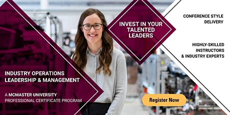 Copy of McMaster University IOLM Information Session tickets