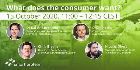 Smart Protein: What does the consumer want? tickets