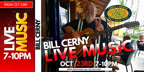 Live Music Friday night with Bill Cerny tickets