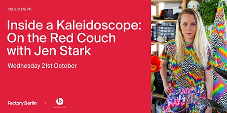 Inside a Kaleidoscope: On the Red Couch with Jen Stark tickets