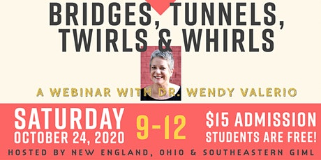 Bridges, Tunnels, Twirls and Whirls tickets