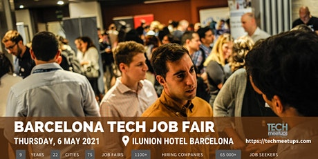 Barcelona Tech Job Fair 2021 By Techmeetups tickets