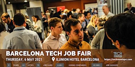 Barcelona Tech Job Fair 2021 By Techmeetups entradas
