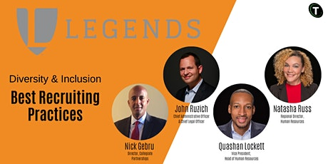 Diversity & Inclusion Best Recruiting Practices presented by Legends tickets