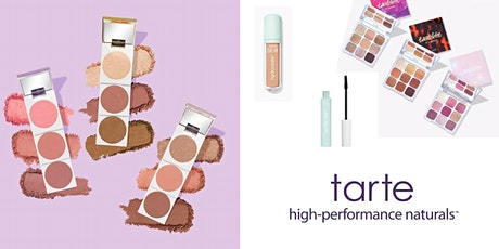 Virtual Event: Day to Night Holiday Glam Masterclass with tarte tickets