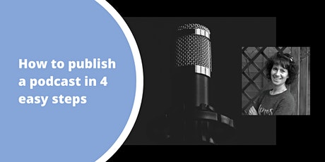 How to publish a podcast in 4 easy steps biglietti