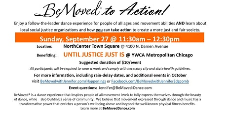 BeMoved to Action! tickets