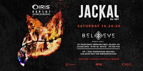 Jackal | IRIS @ Believe | Saturday October 24 tickets