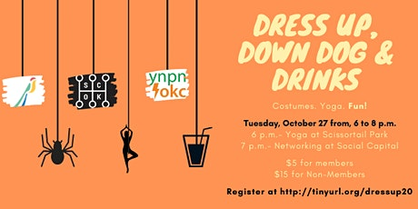 YNPN of OKC Presents: Dress Up, Down Dog and Drinks tickets
