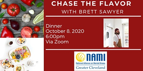 Chase the Flavor with Brett Sawyer tickets