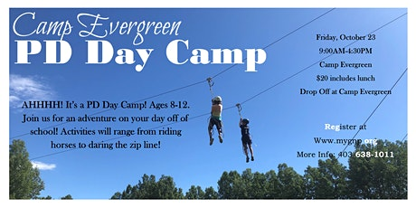 Camp Evergreen PD Day Camp tickets