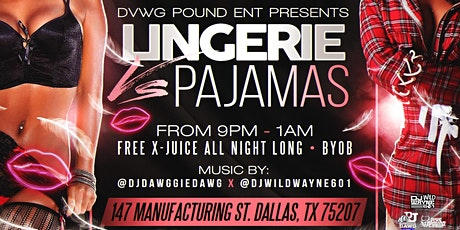 Lingerie vs Pajama Party tickets