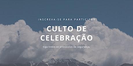 Culto de Celebração - 27-09-20 ingressos