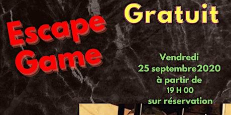 Escape Game - 1ère session (19 h) billets